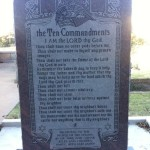 Oklahoma Ten Commandments Monument Destroyed