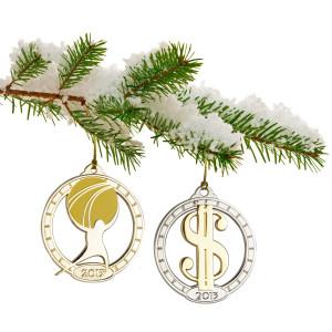 Objectivist Tree Ornaments