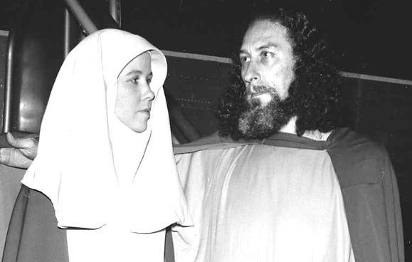 Krishna Venta and his second wife, Sister Ruth.