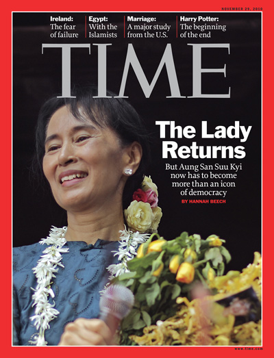 Time Magazine cover-International edition