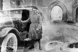 Hitler Leaving Jail
