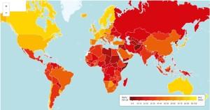 Map of World Corruption
