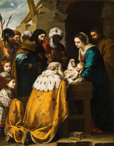 Murillo's Adoration of the Magi