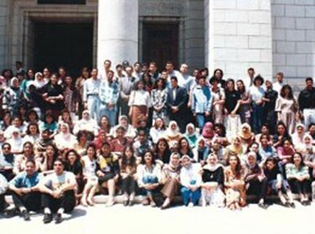 Cairo University, Women's class 1995