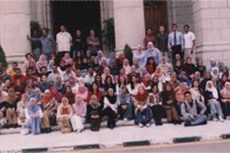 Cairo University, Women's class 2004