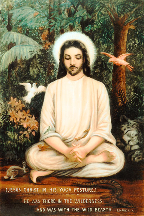 jesus-in-forest