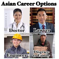 Also Indian career choices, also African career choices...