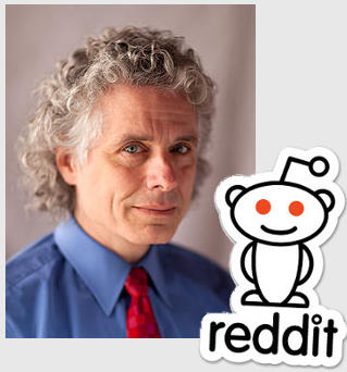 Steven Pinker on Reddit