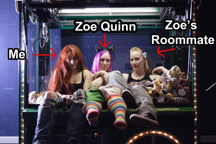 Mallorie, Zoe, and Zoe's roommate