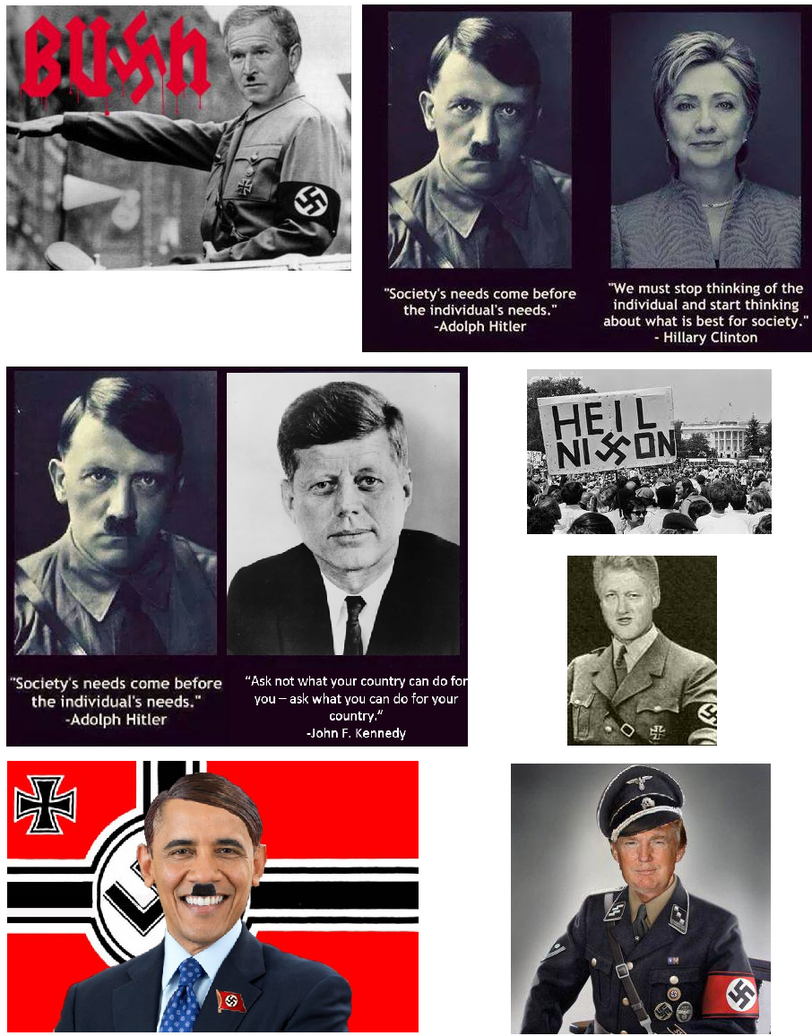 Everyone is Hitler. Got it, thanks.