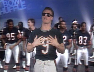 """The NFL faced similar controversy in the 80's over cultural appropriation of rap in the misguided """"Superbowl Shuffle""""."""