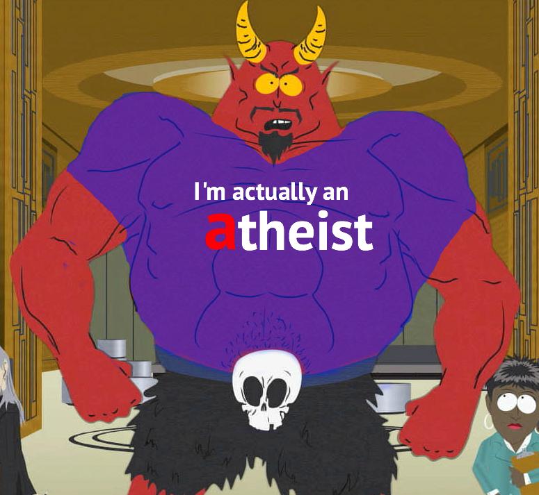 satan actually