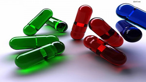 Colorful Pills free images - 3D free images