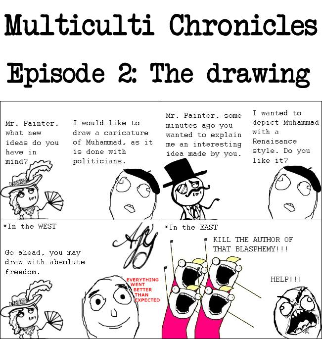 Multiculti Chronicles: The Drawing