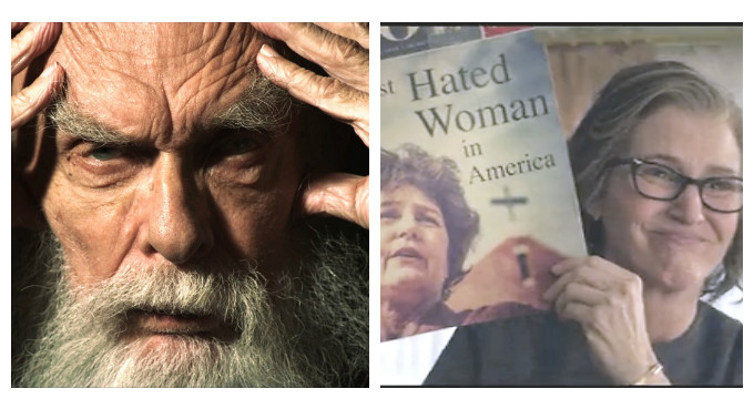 James Randi y Madalyn Murray O\'Hair en Netflix ~ De Avanzada