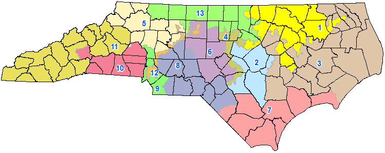 North Carolina House Districts from http://results.enr.clarityelections.com/NC/42923/123365/Web01/en/summary.html