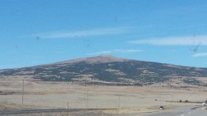 Sierra Grande shield volcano - near Clayton NM