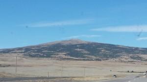Sierra Grande shield volcano - near Clayton NM