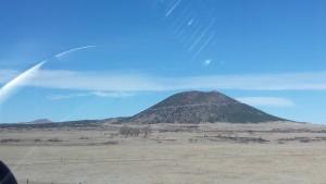Capulin cinder cone volcano - near Clayton, NM
