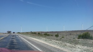 Windfarm near Sweetwater, TX