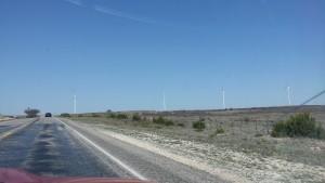 Windfarm near Sweetwater, TX