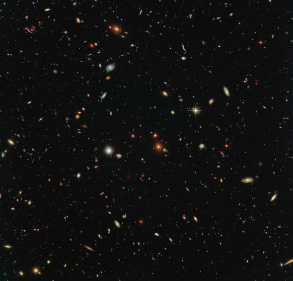 Hubble deep field image. NASA