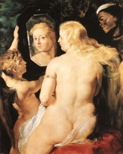 "Peter Paul Rubens, ""Venus At Her Mirror"""