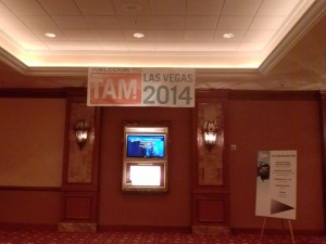 TAM2014arrival