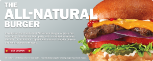 Carl's Jr All-Natural Burger