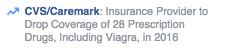 Improved description of CVS Caremark prescription coverage on Facebook