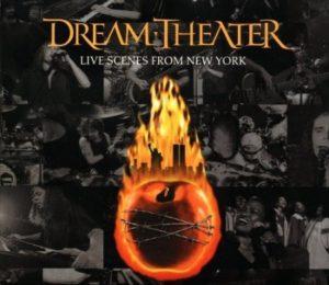 "Original cover art for Dream Theater ""Live Scenes From New York,"" released on September 11, 2001"
