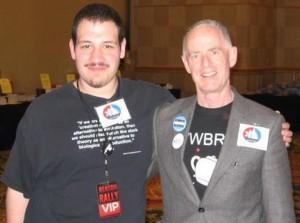 Justin Vacula with Richard Wade