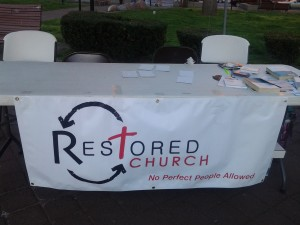 Restored Church - a new church in which Dan Nichols serves as a pastor