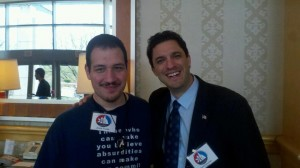Justin Vacula and David Silverman